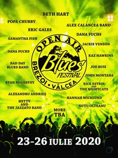Open Air Blues Festival Brezoi 2020 | amanat 2021