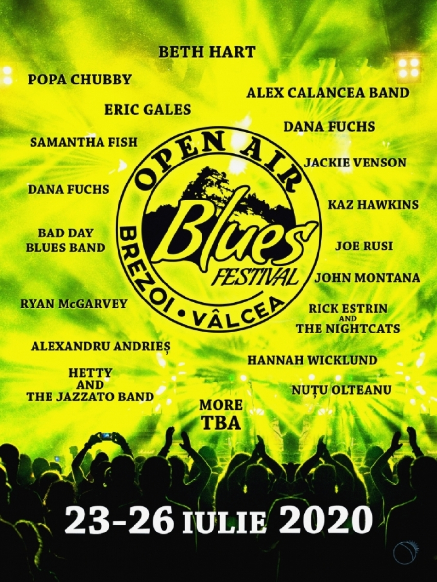 Open Air Blues Festival Brezoi 2020 | 23 - 26 iulie